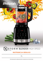Storm Blender High Speed BHS 1002