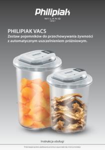 Zestaw pojemników Philipiak VACS